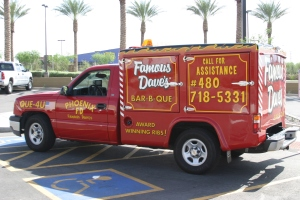 Famous Dave's Catering Truck