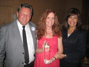 Howard Fleischmann of Community Tire, Charlotte Risch of The Media Push and Nadine Grobmeier of Airpark Auto Service