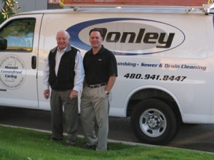Jim and Mike Donley. Family owned business in Phoenix, AZ