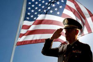 veteran day flag